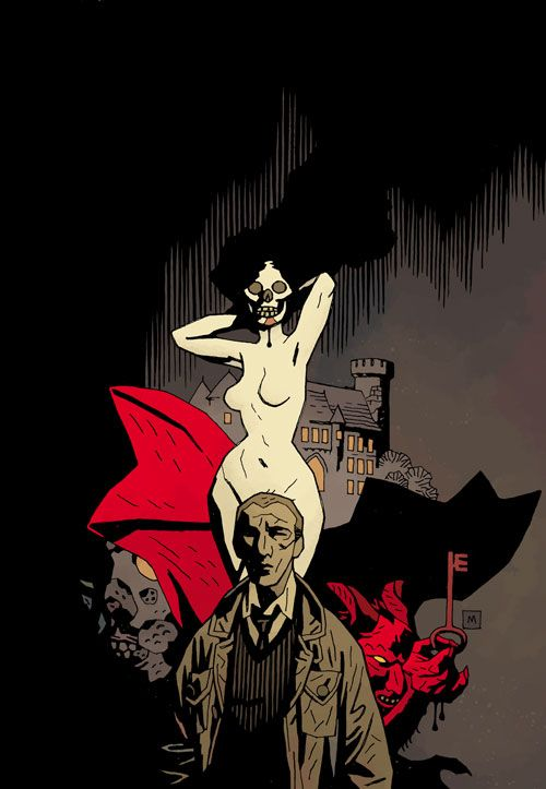 The art of Mike Mignola