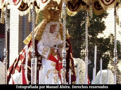 La Virgen, en la Semana Santa de Zaragoza