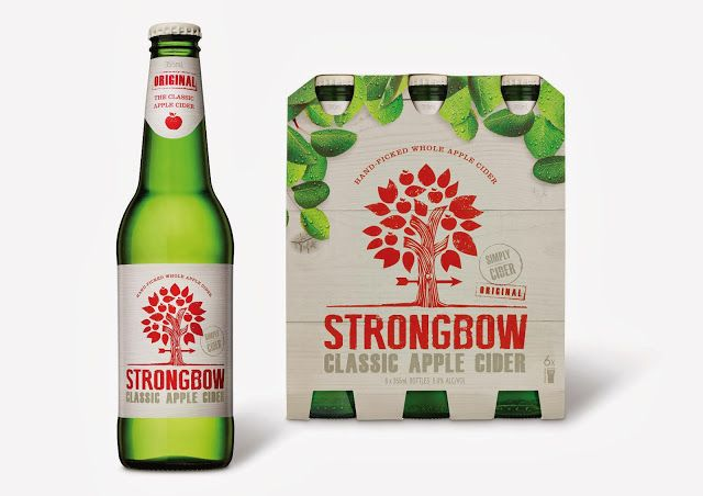 Strongbow on Packaging of the World - Creative Package Design Gallery
