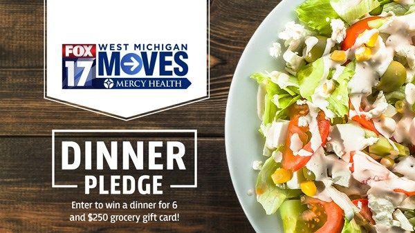 West Michigan Moves Dinner Pledge