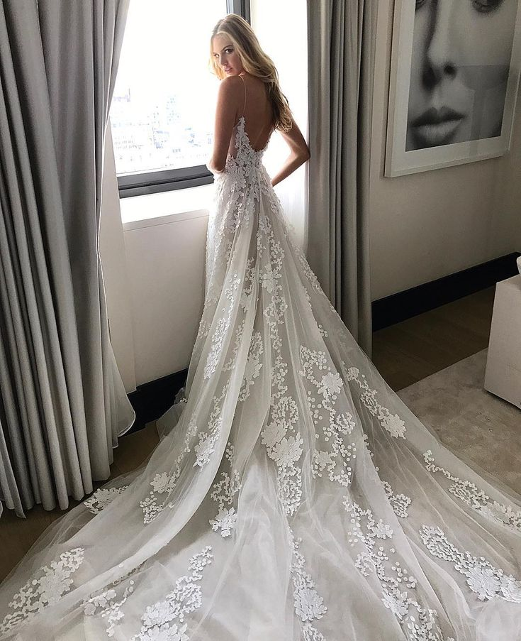 Pin by hadley rollins on tulle tulle tulle pinterest for Lace wedding dress instagram