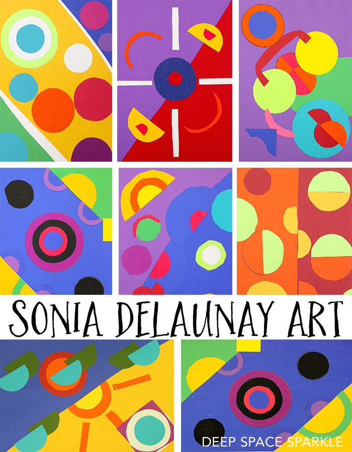 Sonia Delaunay along with her husband Robert Delaunay cofounded an art movement called Orphism. Strong colors and geometric shapes defined this movement.