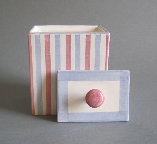Hedwig-Bollhagen-Keksdose-Keramik-Marwitz-Art-Deco-Bauhaus-Stil-Dose-Gebaeckdose