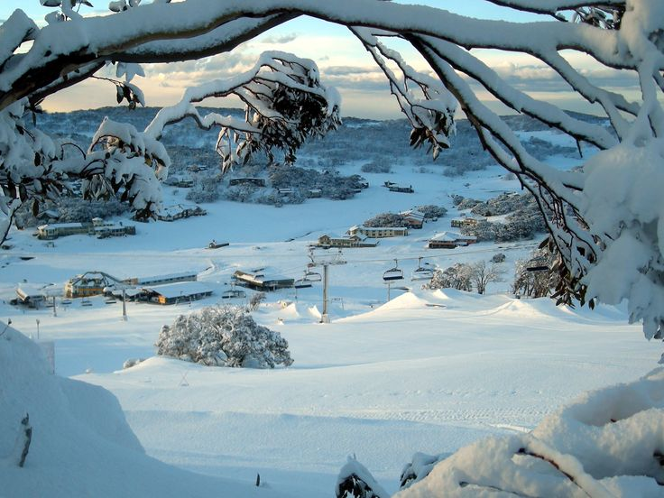 Perisher ski fields, Snowy Mountains, New South Wales