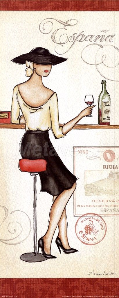 Wine Event I art print at Coffee Decor