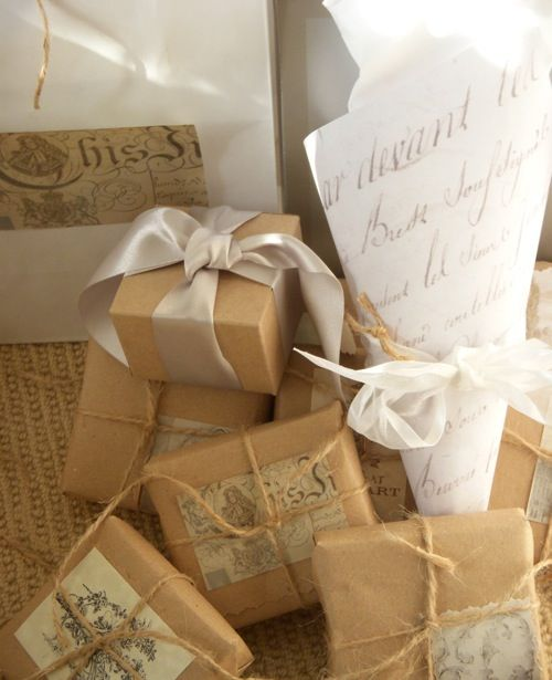 nice idea for small gifts