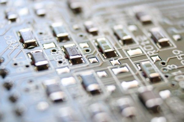 Integrated Circuit Board Macro - Free High Resolution Photo