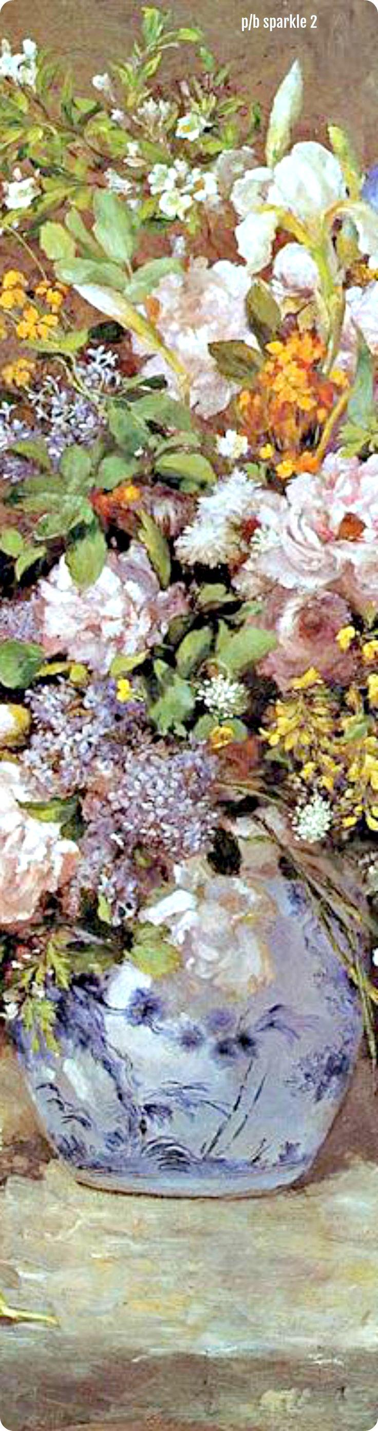 Pierre-Auguste Renoir (1841-1919): Spring Bouquet, 1866
