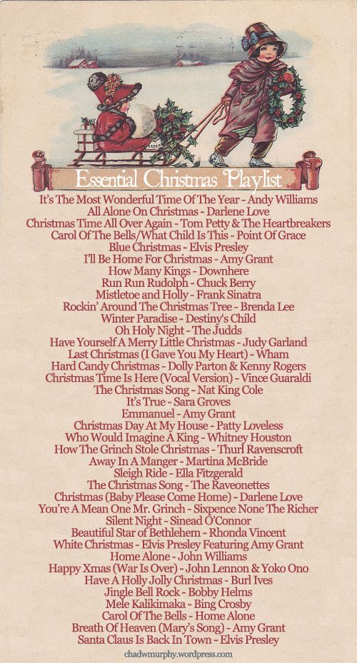 These are truly the best songs for the Christmas season. Some of them are fun to sing and listen to, as well as the ones that celebrate Christ's birth.