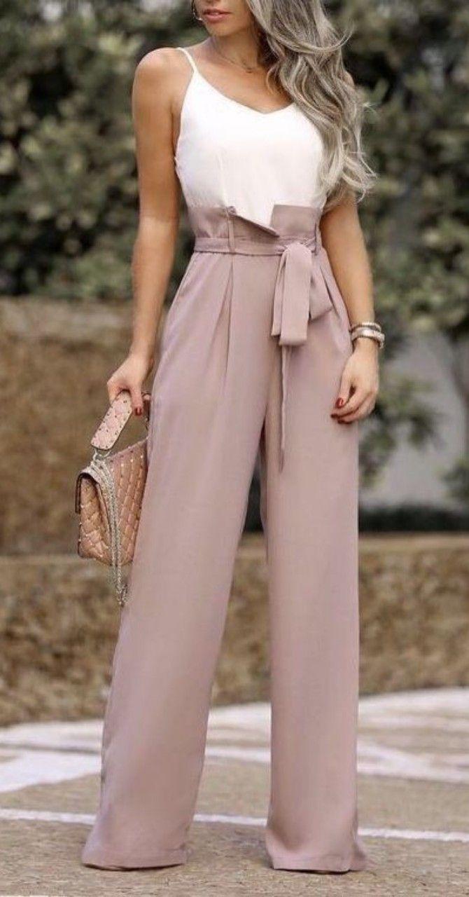 Best 12 45 Pantalones To Update You Wardrobe #jumpsuit #romper #sleeveless #play... 1