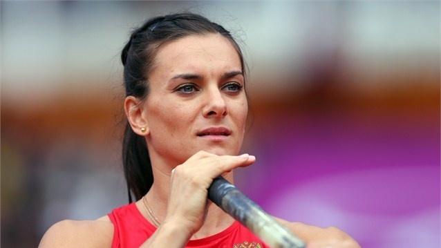 pole vault  Elena Isinbaeva