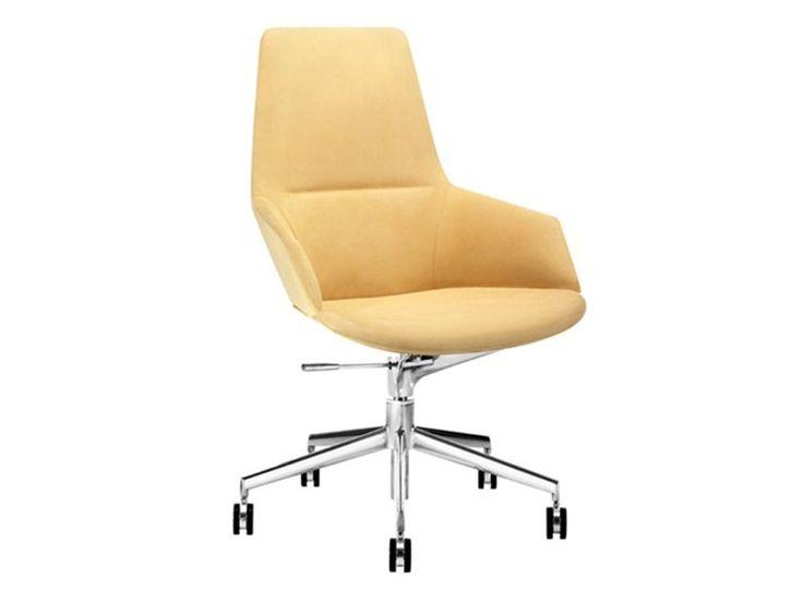 Sedia ufficio operativa ad altezza regolabile a 5 razze | Arper