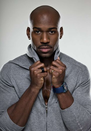 "Since ya'll can't get enough Dolvett Quince! We asked Quince, who's single, what type of woman could stop him in his tracks, turn the tables, and whip him into shape. He said, ""I like a woman that's funny and a woman that doesn't take herself too seriously, but at the same time knows how to be serious. Family has to matter to her because it matters to me."""