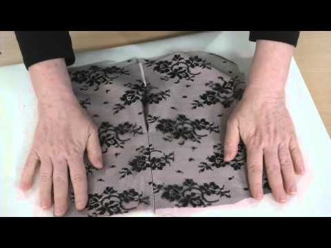 How to Sew Lace Seams - YouTube