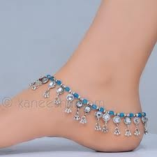 Blue Payal (anklet)