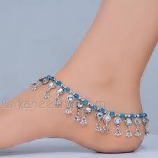 Blue Payal (anklet)