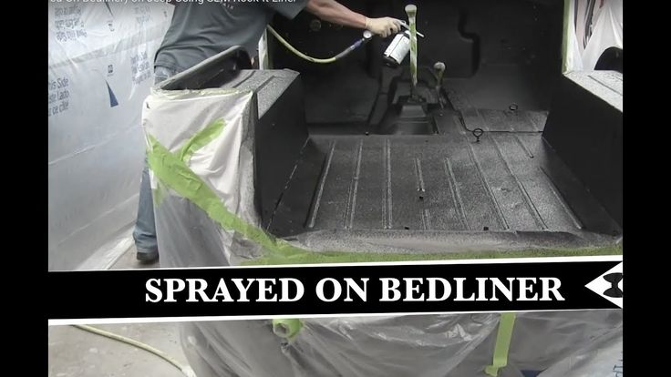 How To (Sprayed On Bedliner) on Jeep Using SEM Rock-It Liner