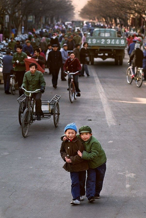 old picture, Luoyang, CHINA