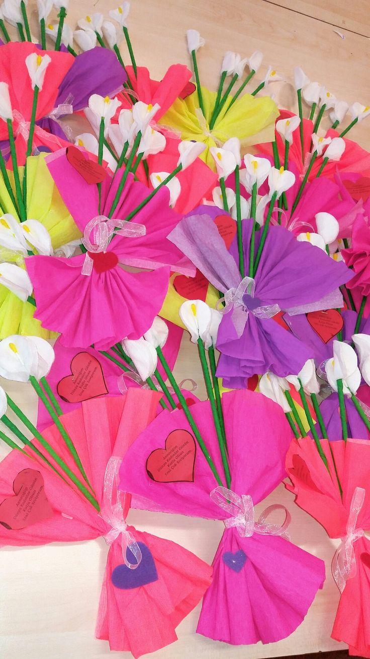 Dünya kadınlar  günü  çiçeğimiz
