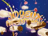 Carte anniversaire nuage