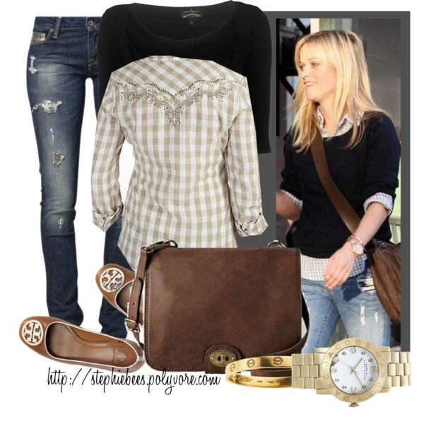 Reese Jeans by stephiebees on Polyvore