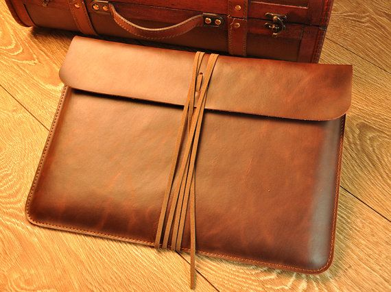 Macbook SleeveMacbook Air Case Macbook Pro by iProLeather on Etsy