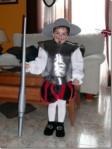 disfraces del quijote para ninos