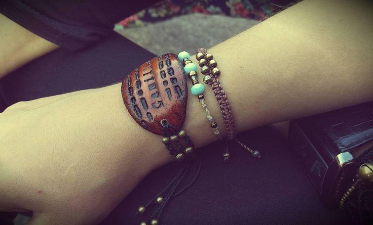 """Polubienia: 20, komentarze: 1 – Medley ArtCo (@medleyartco) na Instagramie: """"#bracelet #personalized #macrame #macramebracelet #Camille #polymerclay  #polymerclayjewelry…"""""""