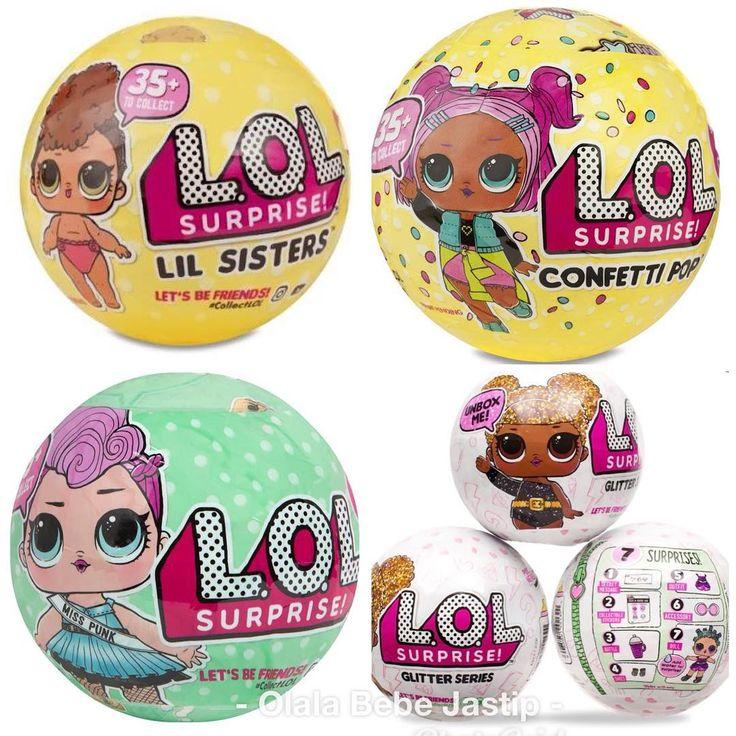 Open PO LOL series. ready akhir maret Lol confetti: 420 Lol glitter: 280 Lol pets: 280 Lol lil sis seri 2: 215 Lol lil sis seri 3: 225  Line: inielley WA: 628159113140  #jualmainan #juallol #lolglitter #lolconfetti #lolpets #lolsurprise #lollittlesisters