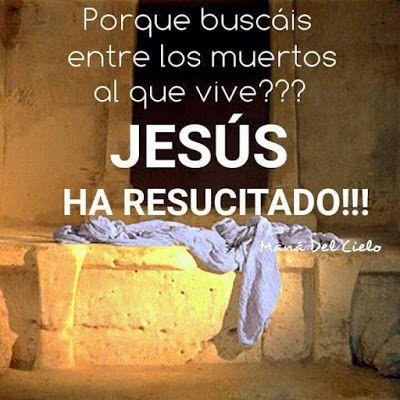 Frases Bonitas Para Facebook: Jesus Ha Resucitado Imagenes Con Frases