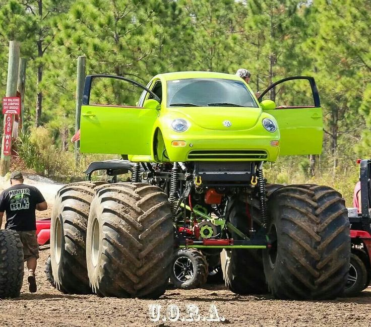 Monster Truck Vw Monster Trucks Cars Vehicles
