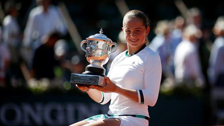Ostapenko hace historia con su primer Roland Garros