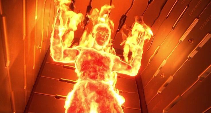 Человек паук Герои и злодеи - Человек-Факел. Карточка319