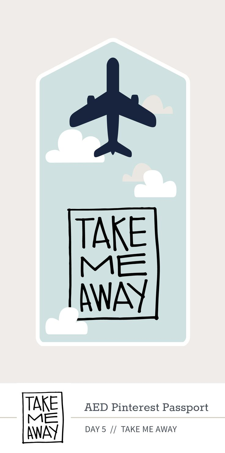 Day 5: Take Me Away