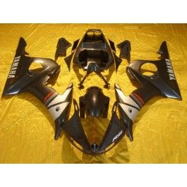 Yamaha YZF-R6 2003-2004 Injection ABS Fairing - Others - Black/Silver | $639.00