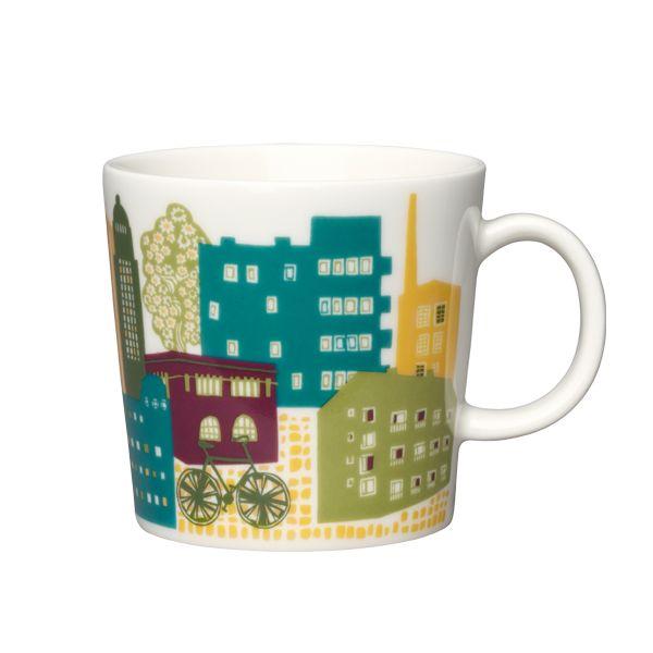 Kotikaupunki mug 0,3 l, Downtown