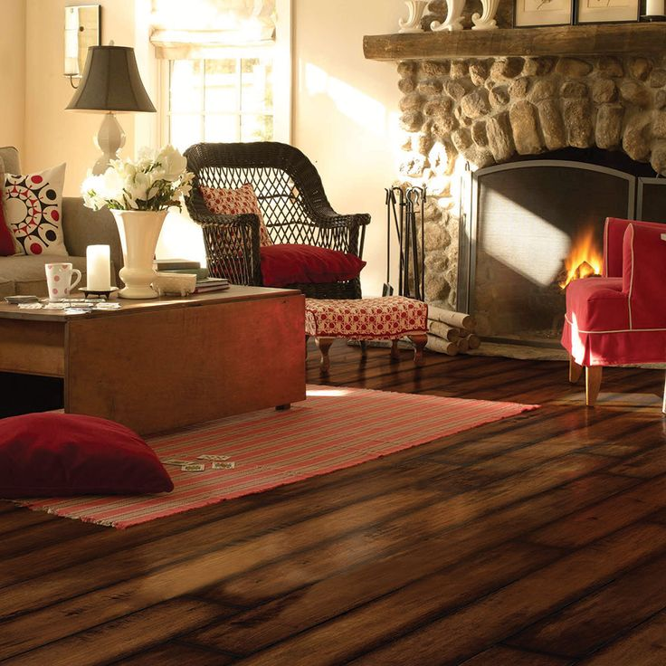 Mannington Laminate Flooring - Revolutions Plank Collection, Time Crafted  Maple - Saddle