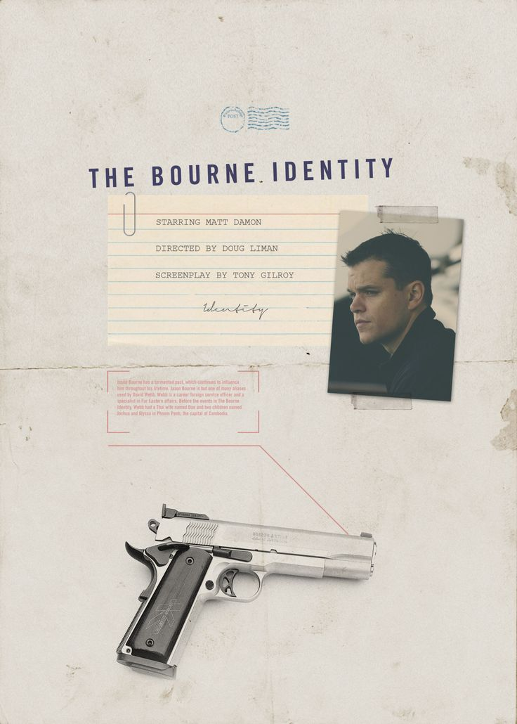 Day 4 of 365 – The Bourne Identity | www.piclectica.com #piclectica