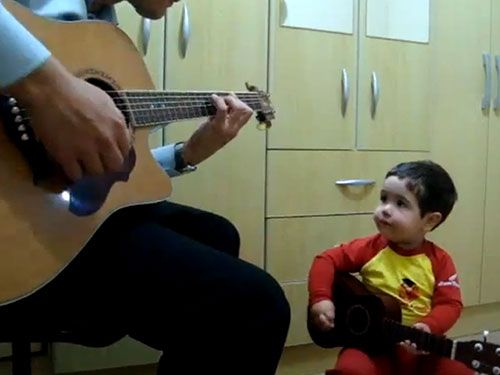 Feel-Good Video of the Week: Daddy-and-Me Duet