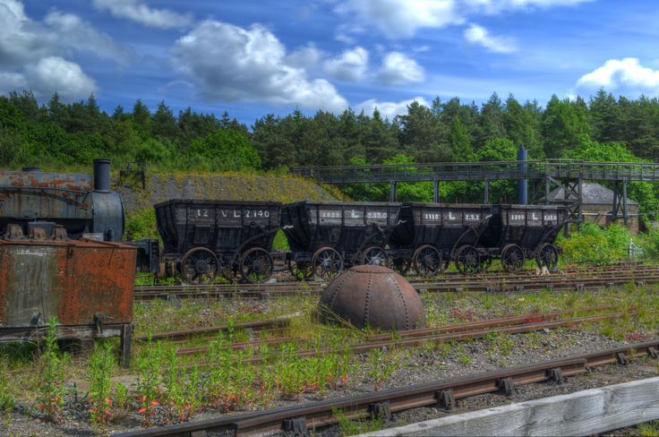 Beamish Coal Cart HDR