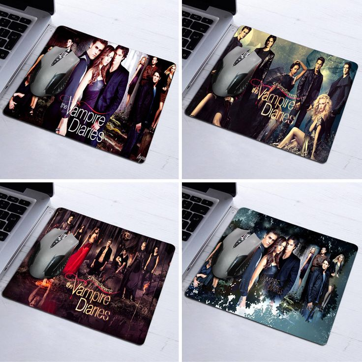 Mousepad Hot Sale The Vampire Diaries Leading Actor Poster Silon Anti-slip Mouse Mats For Pc Computer Laptop Notbook Aming Mat