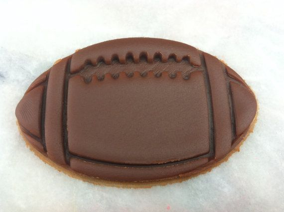 Football Cookie Cutter CHOOSE Your OWN by TheCookieCutterLady