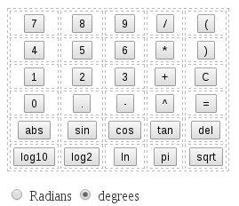 Calculadora cientifica javascript