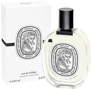 Volutes by Diptyque is an Aromatic fragrance. Top notes are iris flower, honey, tobacco and dried fruits; middle notes are pink pepper, black pepper, saffron, hay and immortelle; base notes are opoponax, myrhh, styrax and benzoin. The fragrance features iris and tobacco. - Fragrantica