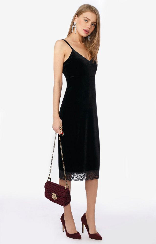 Платья - комбинации. Образ бельевом в стиле