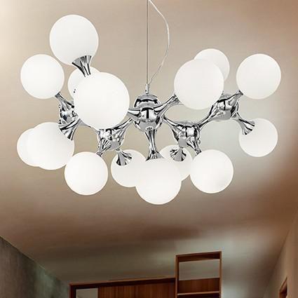 Потолочные подвесные светильники Ideal Lux Светильник потолочный подвесной NODI SP15 082073