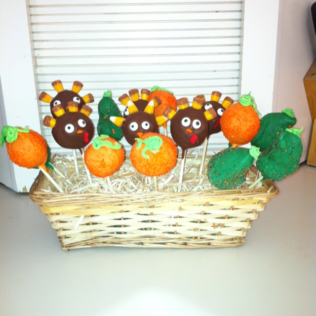 Cake Pop Ideas For Thanksgiving : Thanksgiving Cake Pop Ideas 32569 Thanksgiving Cake Pops T