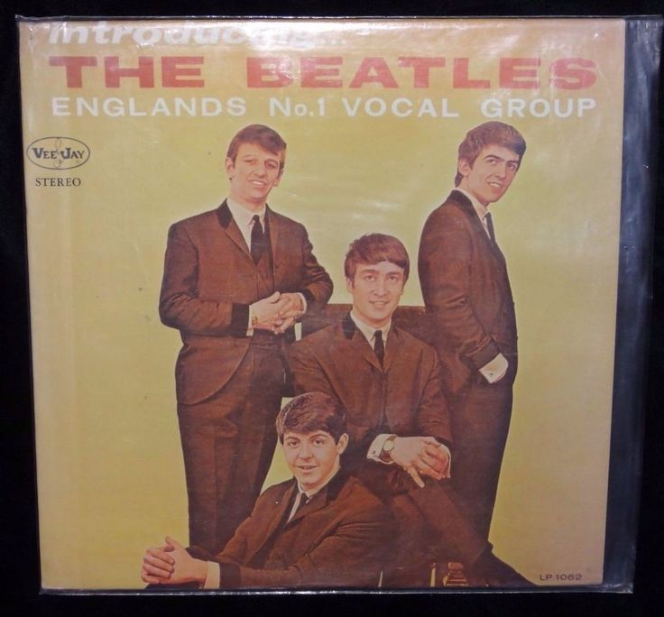 Introducing The Beatles Englands No 1 Vocal Group Vee Jay Rocord LP 1062 Stereo