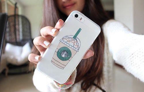 Starbucks phone case~