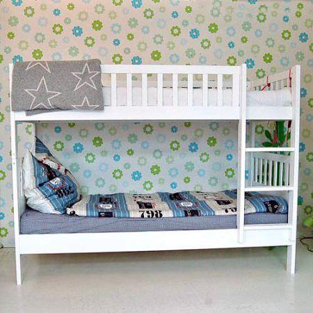 etagenbett malm wei umbaubar 90x200cm hochbett pinterest etagenbett und hochbetten. Black Bedroom Furniture Sets. Home Design Ideas